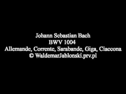 BWV 1004 J.S.Bach, Partita d-moll. Guitar. Nobody is perfect