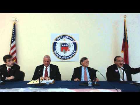 May 7 2013 Georgia Republican Chairman Candidate debate @Cobb County YR