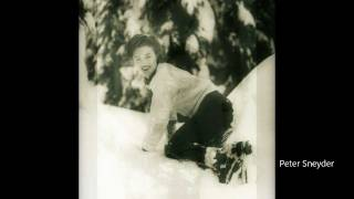 Marilyn Monroe - At Mount Hood 1945. RARE