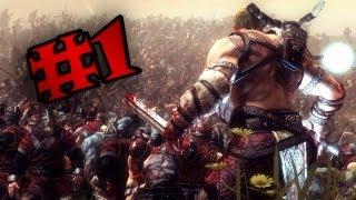 Viking: battle for asgard (RUS) Обзор и Прохождение. [1]
