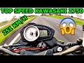 Top Speed Kawasaki Z750 # Quase Acidente