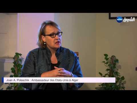 Ambassador Joan Polaschik  Interview - EchoroukTV Part 2of2