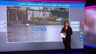 عروسان مصريان يتحديان عاصفة التنين، شاهد ماذا فعلا!