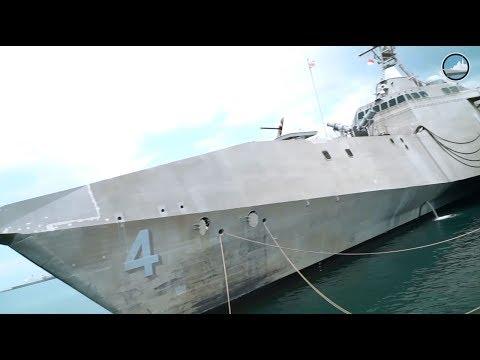 USS Coronado LCS 4 Littoral Combat Ship Independence-class