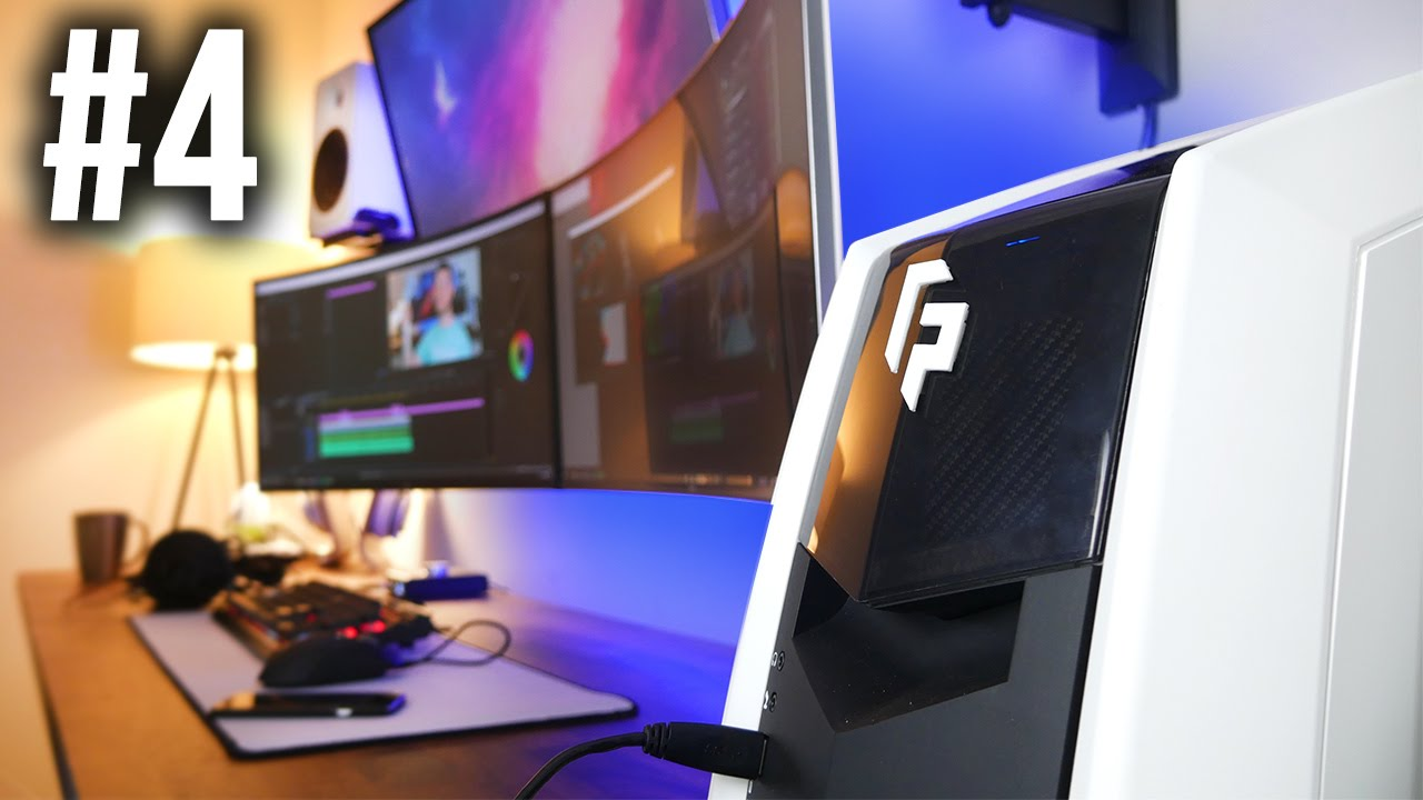 Building My Insane Gaming Setup Pc Amp Desk Mods Part 4