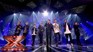 Stereo Kicks sing Jason Mraz's I Won't Give Up (Sing Off) | Live Results Wk 8 | The X Factor UK 2014