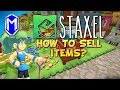 Staxel - How To Sell Items, Using The Shipping Station - Staxel How To Guides And Tutorials