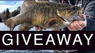 FISHING TRIP GIVEAWAY! GIANT Smallmouth!