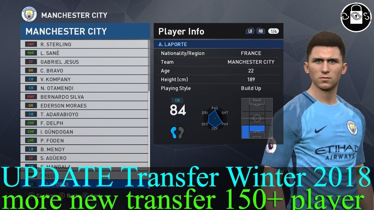 Transfermarkt Winter 2017