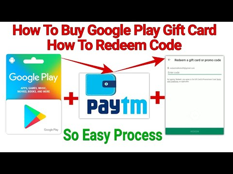 How To Buy Google Play Gift Card Use PayTM || How To ...