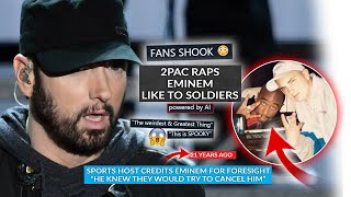Fans Shook At 2Pac On Eminem's Like Toy Soldiers Thanks To AI, Sports Host Credits Eminem Foresight