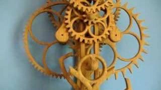 #6 Wooden Clock