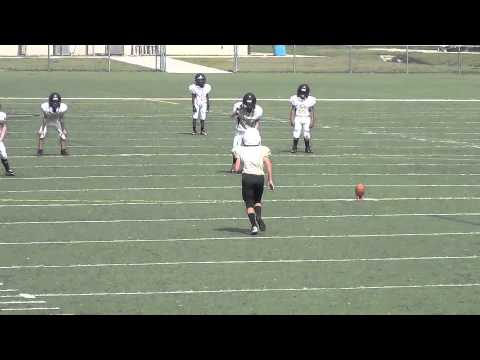 9 yr old Kicker, Ethan Yuska - Greater Jacksonville Pop Warner