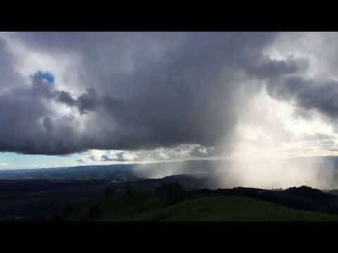Dramatic weather video from the Geysers in Sonoma County