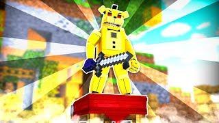 Golden Freddy Bed Wars Champion ?! | Minecraft FNAF Roleplay