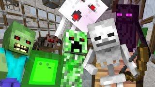 Monster School: Mining - Minecraft