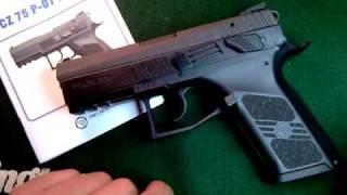 Pistola CZ 75 P-07 9milimetros
