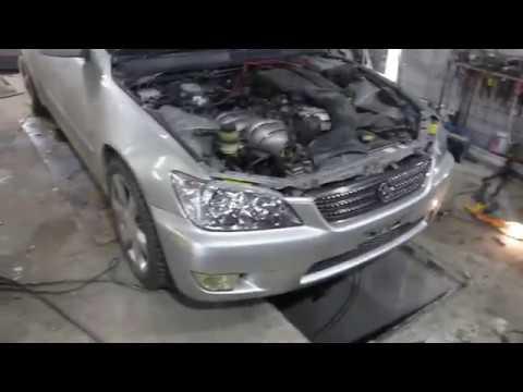 Toyota Altezza - лобовой, замена телевизора, тянем лонжероны, меняем ноускат