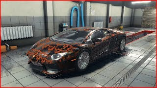 СВАЛКА ДУБАЯ! УТОПЛЕННЫЙ LAMBORGHINI AVENTADOR - Car Mechanic Simulator 2018