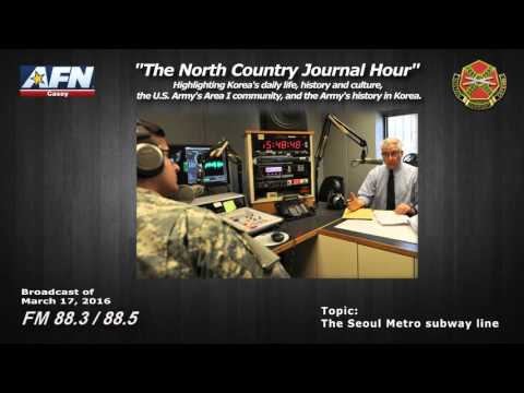 """THE NORTH COUNTRY JOURNAL HOUR"" - Highlighting Korea's history and culture, and the Army in Area I"