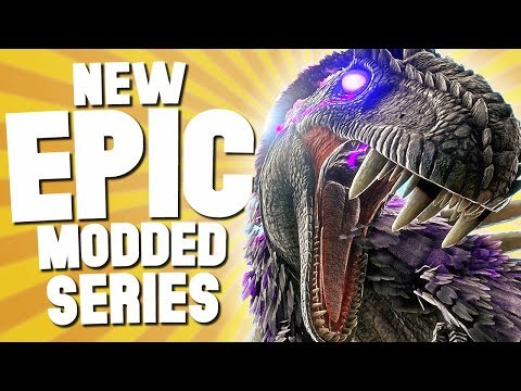 CRAZIEST DINOSAURS YOU'VE EVER SEEN! - Ark Survival Evolved Ep 1 (Modded)