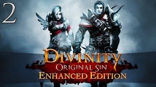 Let's Play ► Divinity: Original Sin Enhanced Edition Co-Op - Part 2 - Arhu [Blind]