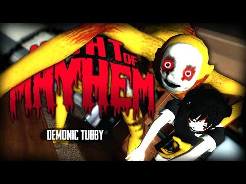 Night of Mayhem | DEMONIC TUBBY (Garry's Mod)