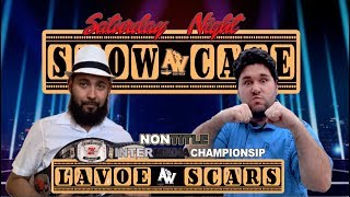Non-InterMedia Championship: Baret Lavoe vs. Michael Scars (Saturday Night Showca)