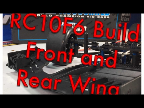 RC10F6 Front and Rear Wing Build - Team Associated RC10F6 Factory Team F1 Kit