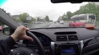 Тойота Камри 2.0 2016. Рассказ о езде на высокой скорости. + первые проблемы