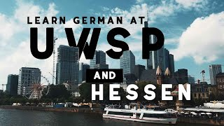 Learn German at UWSP and Hessen