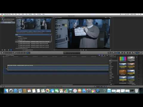 The Final Cut Pro interface