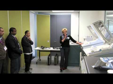 Sterilisation Practical Block at Randwick and St George private Hospital