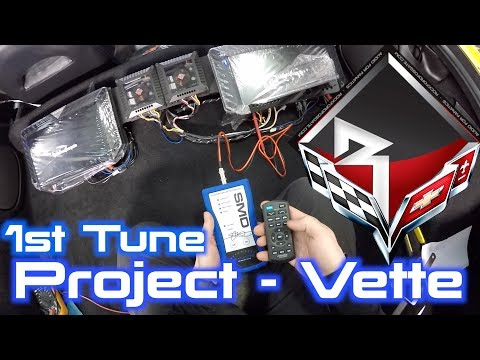 C5 Corvette Sound System   First Full Tuning!