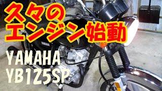 2年間眠っていたバイクを始動させる - YAMAHA YB125SP