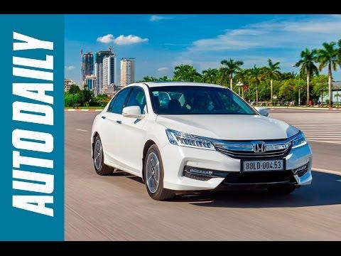 Autodaily.vn I Đánh giá xe Honda Accord 2016 - Trang bị tốt hơn, lái phấn khích hơn