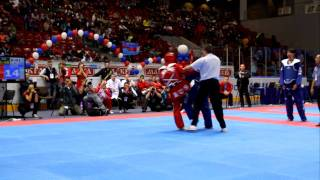 Russia vs South Korea Taekwondo TagTeam 3 of 4 - 4308.mov