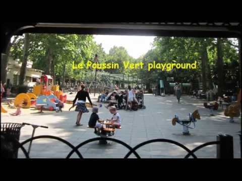 Paris for Kids: The Luxembourg Gardens, part 1 (video 1)