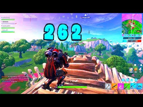 Fortnite Season 10 Game Play On PC - 2 Minute 16 Kills With The Scientist Skin