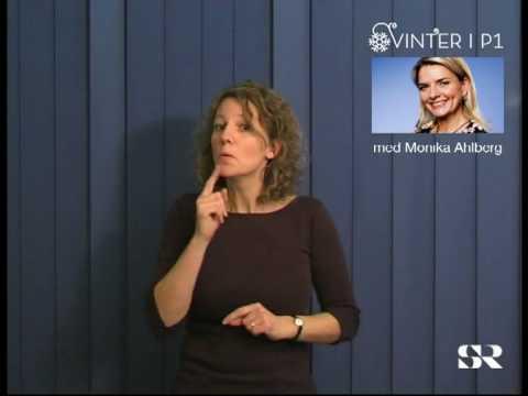 SR P1: Vinter med Monika Ahlberg, del 1 av 5
