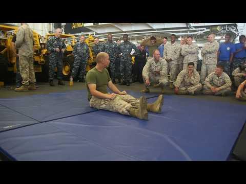 U.S. Marines & Sailors TASER Training