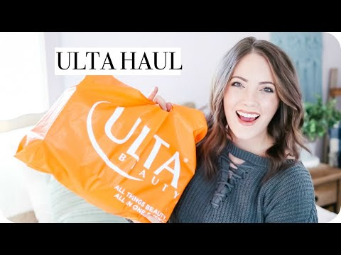 ULTA HAUL!! FEBRUARY 2019 | DRUGSTORE MAKEUP + CRUELTY FREE + NEW CURLING WAND | Michele Rose Mp3