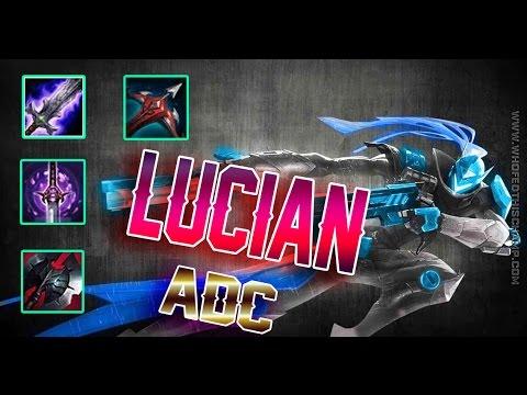 Lucian ADC | Lucian Phiên Bản Nữ | Lướt Bắn Mức Thánh | Cách chơi và lên |Liên Minh Huyền Thoại