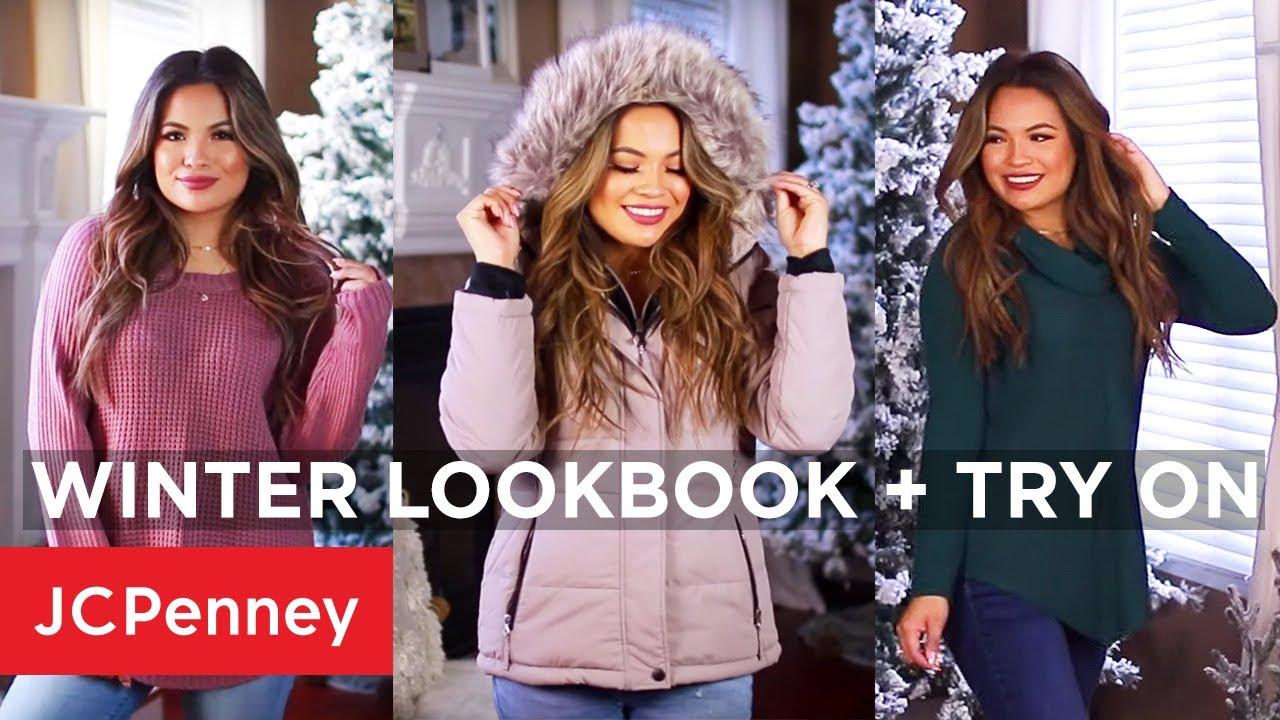 [VIDEO] - Winter 2019 Lookbook + Try On Haul with Belinda Selene | JCPenney 9