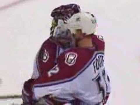Patrick Roy - 1st Intermission Video