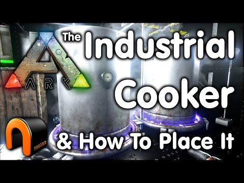 Ark Industrial Cooker & How To Place It