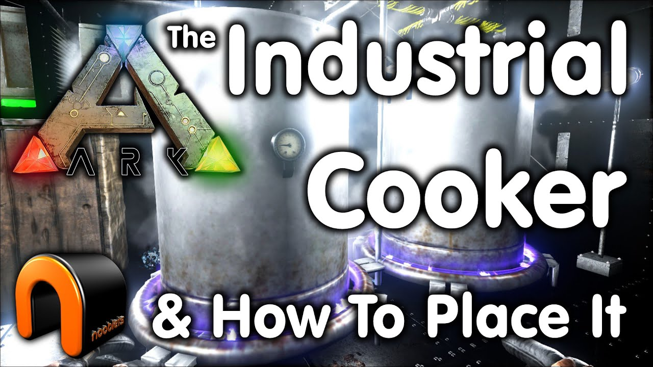 Ark Industrial Cooker U0026 How To Place It