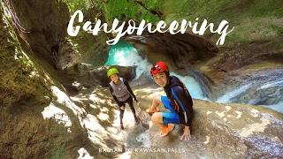 Canyoneering to Kawasan Falls, Cebu | KRYZ & SLATER