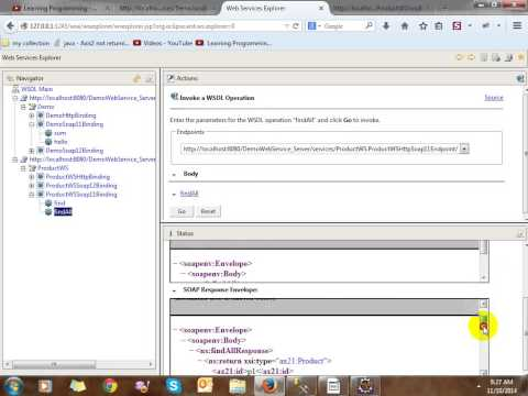 Building SOAP Web Service in Java Using Eclipse