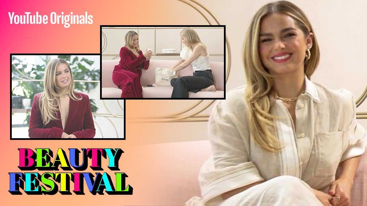 Gwyneth Paltrow gave me a '90s makeover! #BeautyFest | Addison Rae